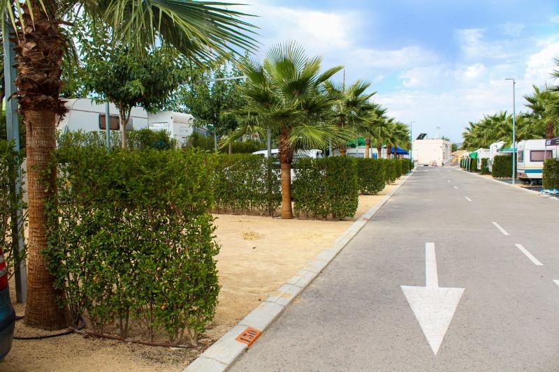 Camping Alicante Imperium Parcelas