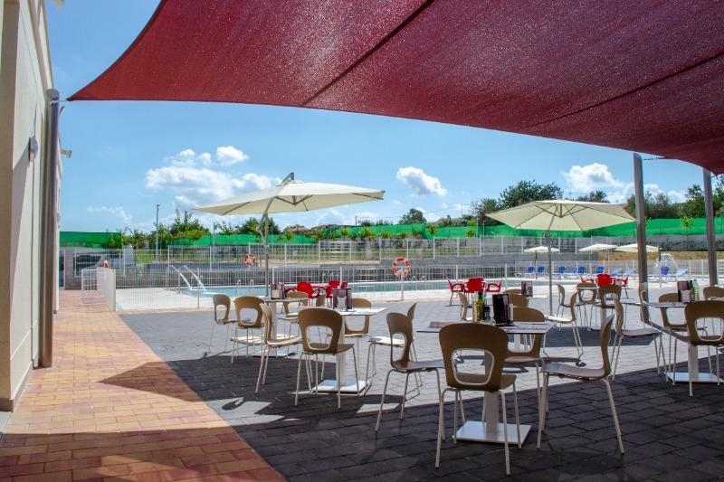 Camping Alicante Imperium Terrasse